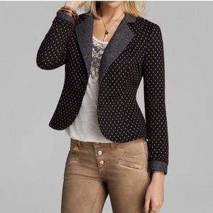 Free People Quilted Blazer Size S